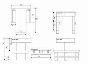 Woodwork Concrete Shooting Bench Plans PDF Plans