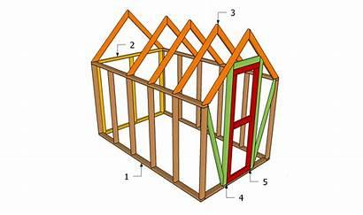Greenhouse Diy Plans Wood Frame Building Greenhouses