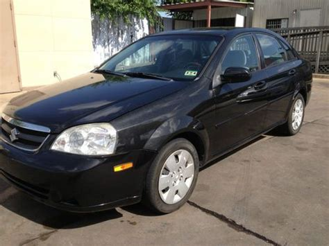 car owners manuals for sale 2006 suzuki forenza navigation system find used 2006 suzuki forenza 62k miles nonsmoker manual transmission excellent no reserve in