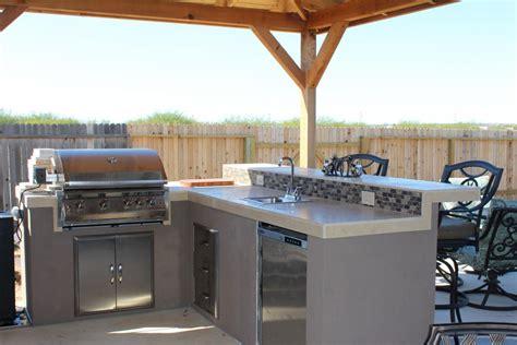 outdoor patio kitchen photo gallery san antonio outdoor kitchens custom designs
