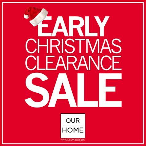 manila shopper  home big clearance early christmas