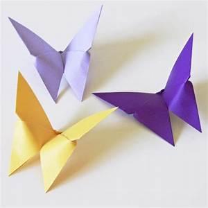 Origami Für Anfänger : origami schmetterlinge handmade kultur ~ A.2002-acura-tl-radio.info Haus und Dekorationen