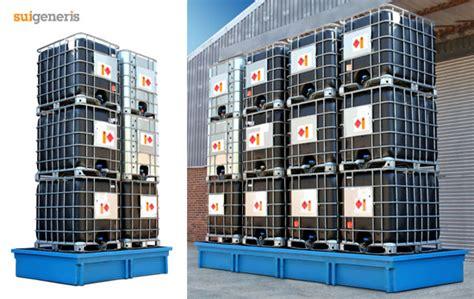 weve  added   space saving ibc bunds ibc pallets
