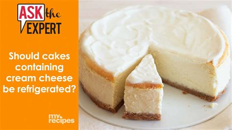 cakes  cream cheese  refrigerated