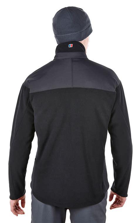 berghaus choktoi ii mens windproof fleece trail jacket