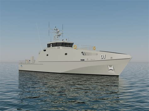 Pacific Class Patrol Boat by Austal Awarded Pacific Patrol Boat Contract Austal