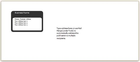 Envelope Template Word 40 Editable Envelope Templates For Ms Word Word Excel