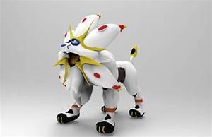 Solgaleo Pokemon 3D model | CGTrader
