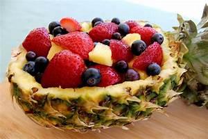 Quick, U0026, Easy, Pineapple, Fruit, Bowl