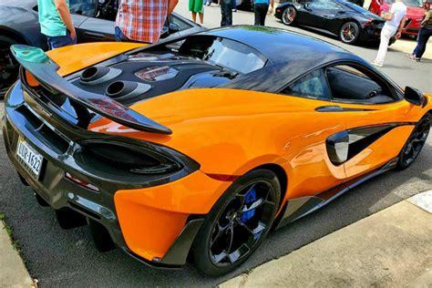Orange Mclaren 600LT - 6SpeedOnline - Porsche Forum and ...