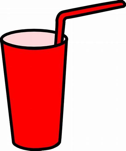 Straw Clipart Glass Drinking Cup Clip Drink