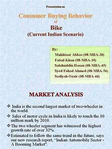 Cdp Model Of Purchasing A Bike In Current Indian Scenario