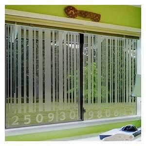 Stickers Pour Vitre : sticker occultant pour vitre et fen tre code barre ~ Melissatoandfro.com Idées de Décoration