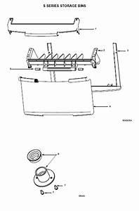 Manitowoc S970 Ice Bin Parts Diagram