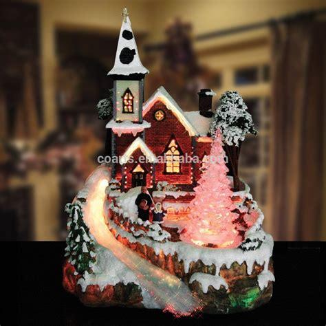 led lights for christmas village houses custom resin christmas village scene fibre optic led light