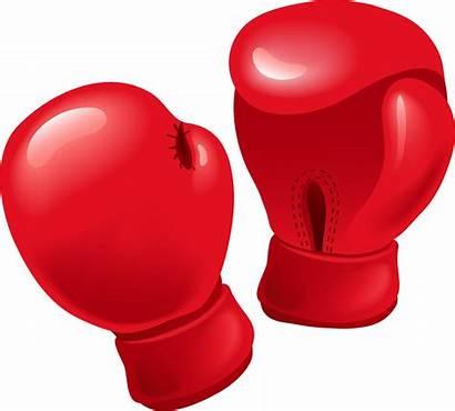 Boxing Gloves Clipart Clip Glove Boxer Kickboxing