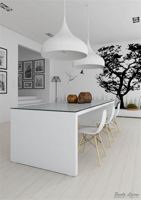 kitchen interior designs 3 black and white kitchen interior design ideas