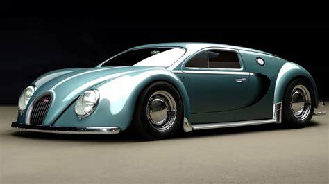 Bugati Car : The 1945 Bugatti Veyron