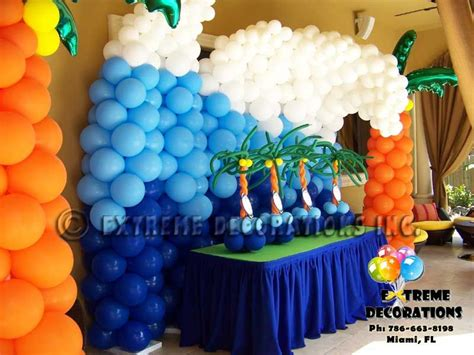 beach theme party decorations creative party ideas