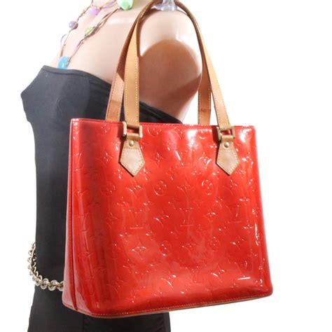 louis vuitton vernis leather houston bag red lvjp bags  charmbags  charm