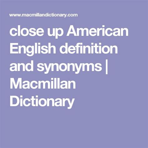 close  american english definition  synonyms