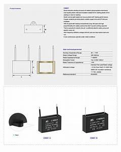 Capacitor Cbb61 7uf -5  450v 50  60hz 25  70  21 Sh Po