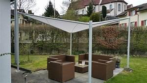 sonnensegel mit gestell elegant hypercamp sonnensegel fr With französischer balkon mit schneider sonnenschirm samos test