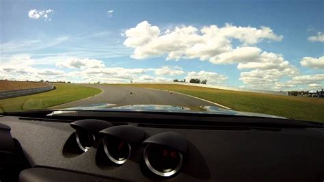 nissan  convertible track test youtube