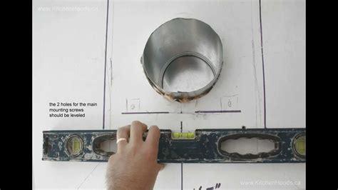 install victory wall mount range hood youtube