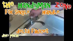 Repair A Delta Single Handle Faucet That Leaks Part