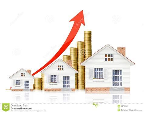 Property Value Stock Photo  Image 43704491