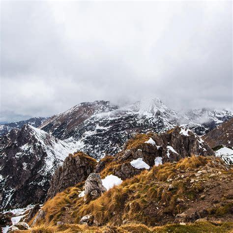 Pin Snowy Mountain Peaks Hd Desktop Wallpaper High