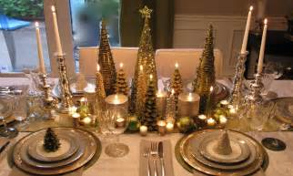 christmas decorations for dining room table elegant