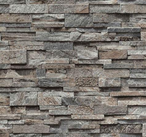 brick effect wallpaper vinyl 3d slate split