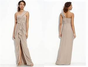 beige dress dressed up girl With beige dresses for wedding
