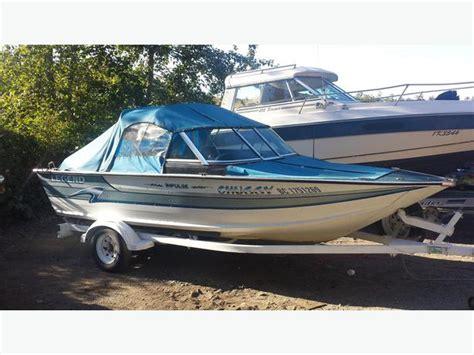 Legend Boats In Saskatoon by 16 Foot Aluminum Legend Bowrider Boat 115hp Yamaha V4