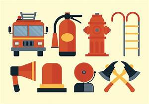Firefighter Vector Set