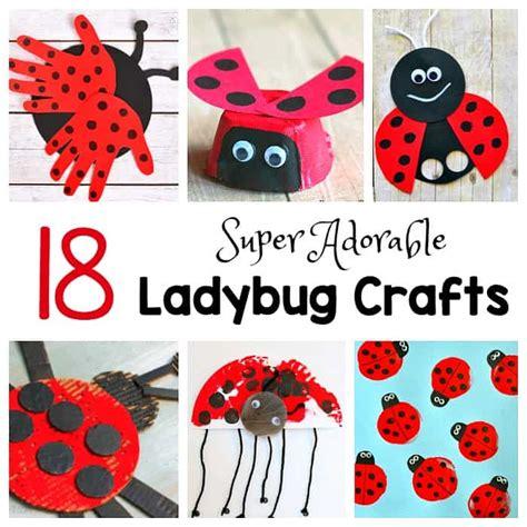 18 ladybug crafts for buggy and buddy 686 | ladybug square