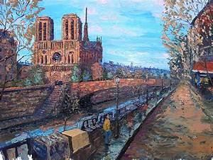 Peinture De Paris Poissy : paysages john abbott painter artist ~ Premium-room.com Idées de Décoration