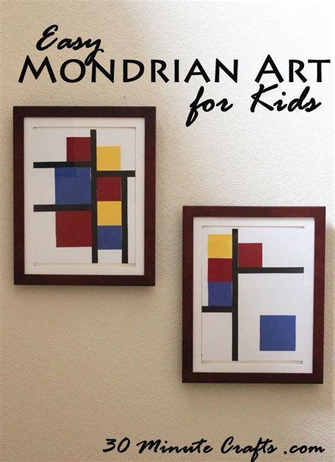 mondrian art projects  kids images