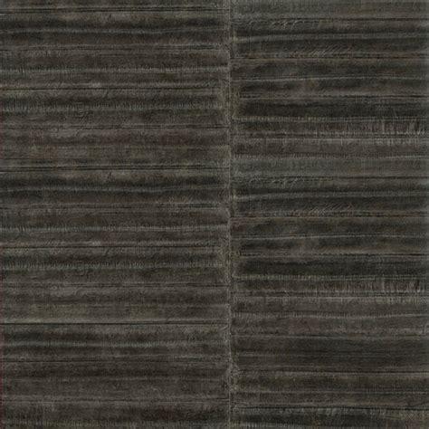 papier peint gris aspect peau d anguille elitis au fil