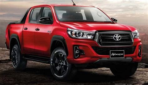 2019 Toyota Hilux Gets Some Upgrades And A New Offroad