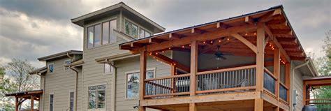 timber frame porch deck entrance projects built  moresun