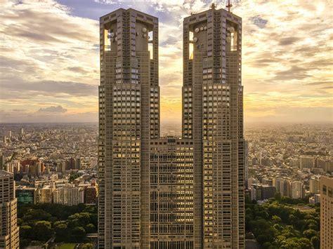 Free photo: Skyscrapers, Tokyo, Japan - Free Image on