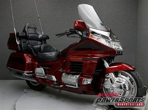 honda goldwing 1500 1999 honda gl1500 goldwing 1500 se national powersports distributors