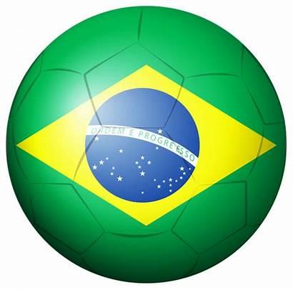 Brazil Soccer Ball Clipart Clip Transparent Sport