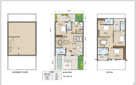 floor plans 30 x 60 30 x 60 house plan map