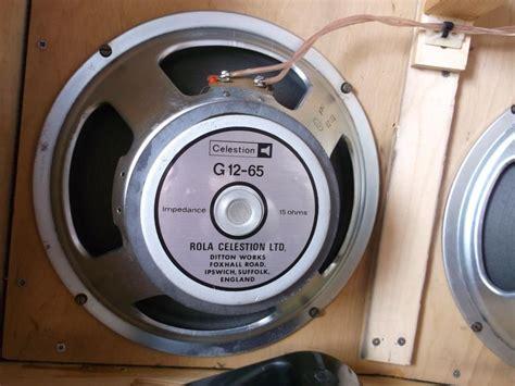 my reference speaker reviews celestion g12 65 rola