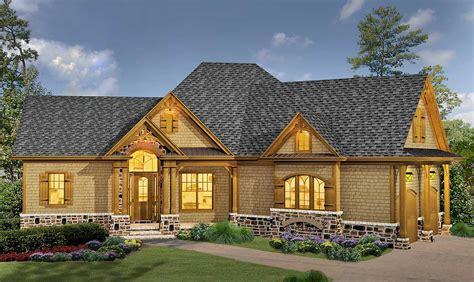 classic hip roofed cottage  options ge architectural designs house plans