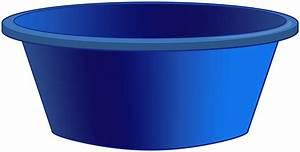 Cube Plastique Transparent : blue plastic tub png clipart best web clipart ~ Farleysfitness.com Idées de Décoration